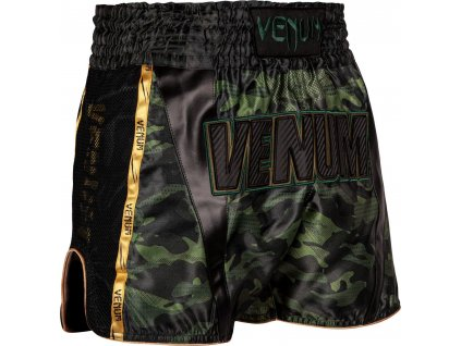 Muay Thai Shorts Venum Full Cam - Forest Camo/Black