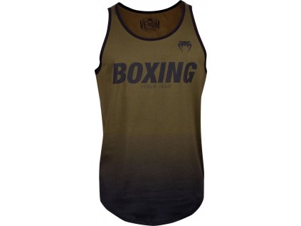 Men's Tank Top Venum Boxing VT - Khaki/Black