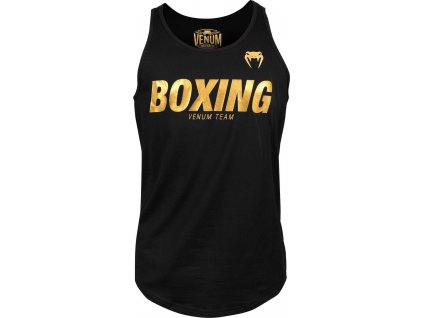 Men's Tank Top Venum Boxing VT - Black/Gold