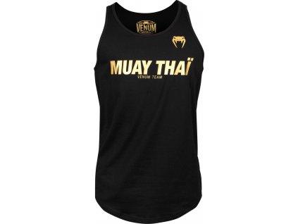 Men's Tank Top Venum Muay Thai VT - Black/Gold