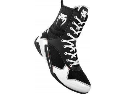 Boxing Shoes Venum Elite - Black/White