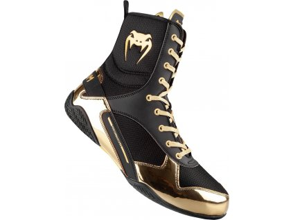 Boxing Shoes Venum Elite - Black/Gold