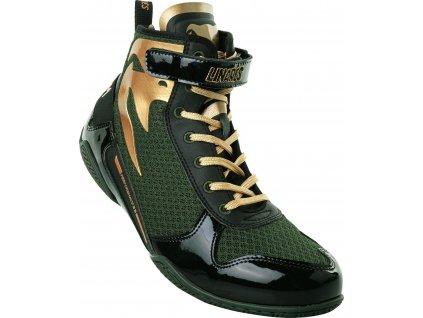 Boxing Shoes Venum Giant Low - Linares Edition - Khaki/Black/Gold
