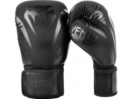 Boxing Gloves Venum Impact - Black/Black
