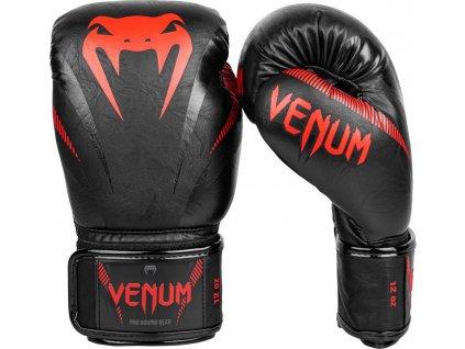 Boxing Gloves Venum Impact - Black/Red