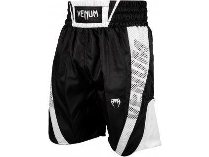 Boxing Shorts Venum Elite - Black/White