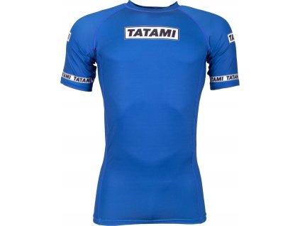 Rashguard Tatami Dweller - Short Sleeves - Blue