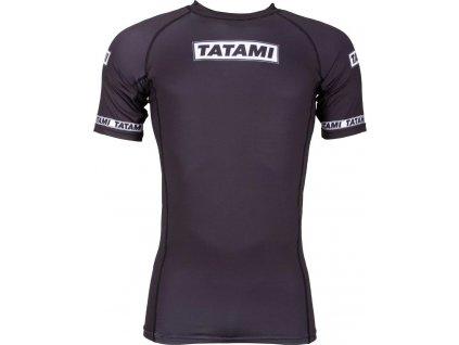 Rashguard Tatami Dweller - Short Sleeves - Black