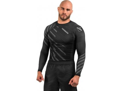 Rashguard Hayabusa Odor Resist - Grey - Long sleeves