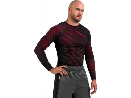 Rashguard Hayabusa Odor Resist - Red - Long sleeves