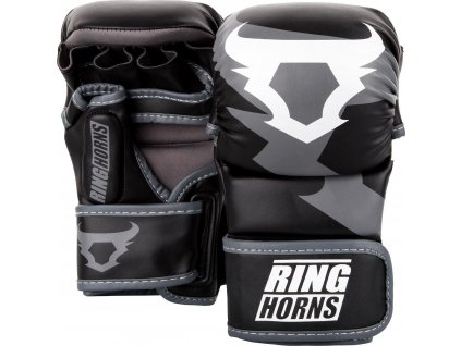 MMA Sparring Gloves Ringhorns Charger - Black