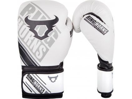 Boxing Gloves Ringhorns Nitro - White
