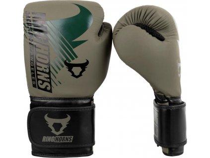 Boxing Gloves Ringhorns Charger MX - Khaki/Black