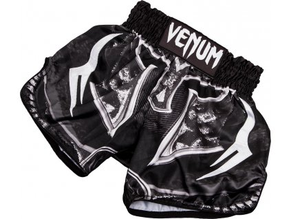 Muay Thai Shorts Venum Gladiator 3.0 - Black/White