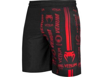 Training Shorts Venum Logos - Black/Red