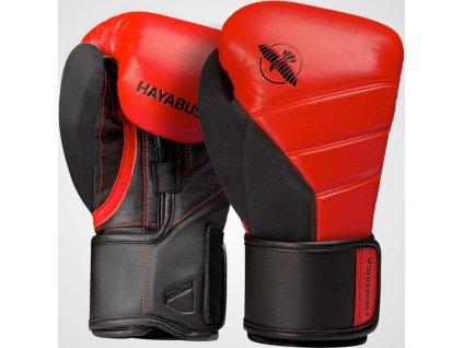 Boxing Gloves Hayabusa T3 - Red/Black
