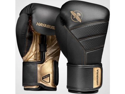 Boxing Gloves Hayabusa T3 - Black/Gold