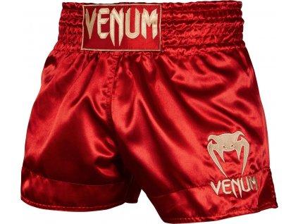 Muay Thai Shorts Venum Classic - Maroon/Gold