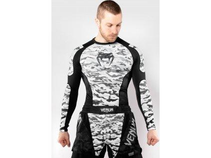 Rashguard Venum Defender - Long Sleeves - Urban Camo