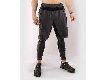 Training Shorts Venum G-FIT - Grey/Black