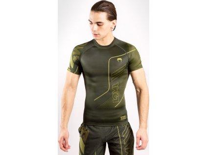 Rashguard Venum Loma Commando - Short Sleeves - Khaki