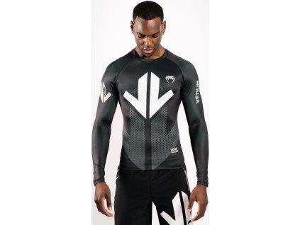 Rashguard Venum Arrow Loma Signature - Long Sleeves - Black/White