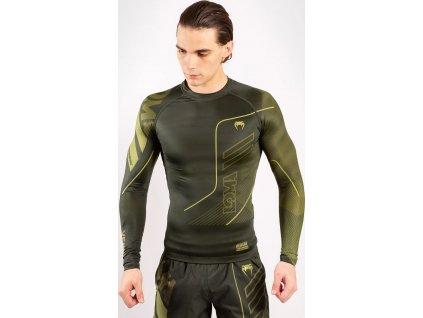 Rashguard Venum Loma Commando - Long Sleeves - Khaki