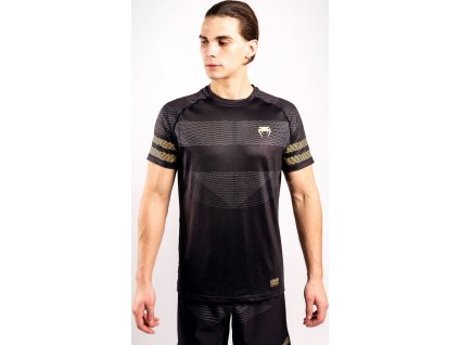 T-Shirt Venum Club 182 Dry Tech - Black/Gold
