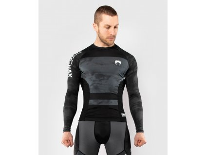 Rashguard Venum Sky247 - Long Sleeves - Black/Grey