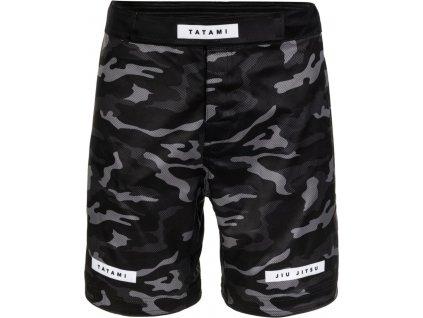 MMA no-gi Grappling Shorts Tatami Rival - Black & Camo