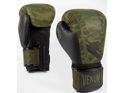 Boxing Gloves Venum Trooper - Forest Camo/Black