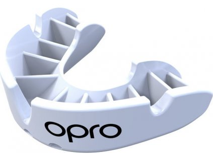 Mouthguard OPRO Bronze - White