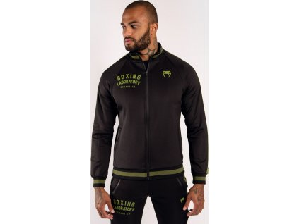 Track Jacket Venum Boxing Lab - Black/Green