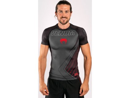 Rashguard Venum Contender 5.0 - Short Sleeves - Black/Red