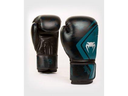 Boxing Gloves Venum Defender Contender 2.0 - Black/Green
