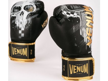 Boxing Gloves Venum Skull - Black