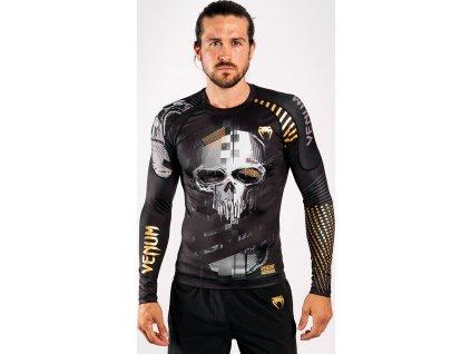 Rashguard Venum Skull - Long Sleeves - Black