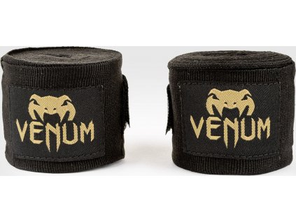 Boxing Handwraps Venum Kontact 2,5m - Black/Gold