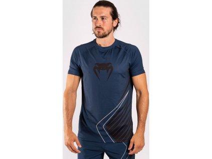 Men's T-shirt Venum Contender 5.0 Dry Tech - Navy/Sand