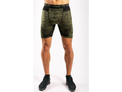 Compression Shorts Venum Trooper - Forest Camo/Black