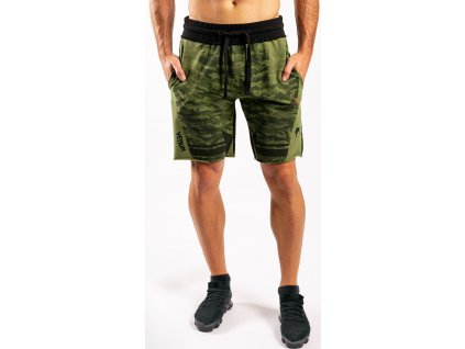 Cotton Shorts Venum Trooper - Forest Camo/Black