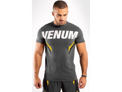Men's T-shirt Venum ONE FC Impact - Grey/Yellow