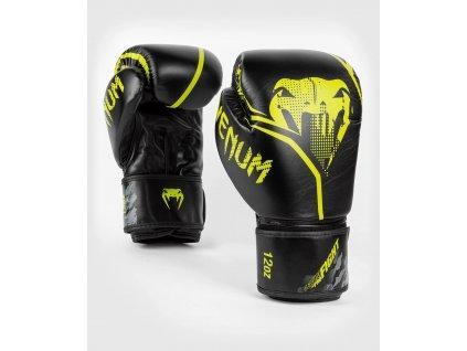 Boxing Gloves Venum Contender 1.2 - Black/Neo Yellow