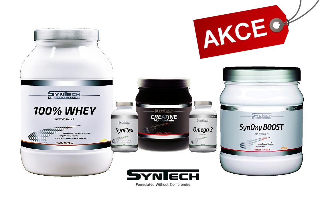 Sportovní výživa značky SynTech