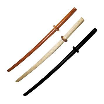 Dřevěné tréninkové zbraně