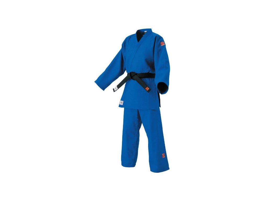 Kimono na judo KuSakura (IJF) - modré japonské kimono (JNF)