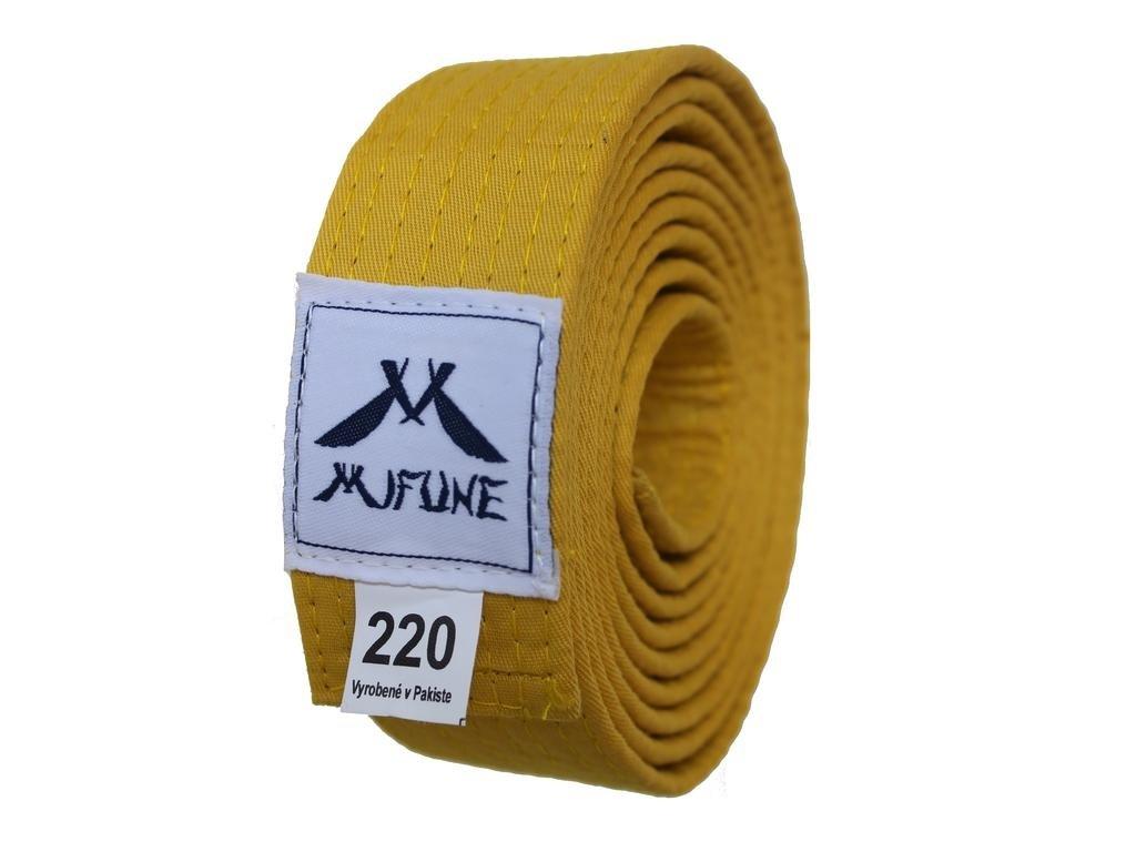 Pásek na kimono žlutý MIFUNE