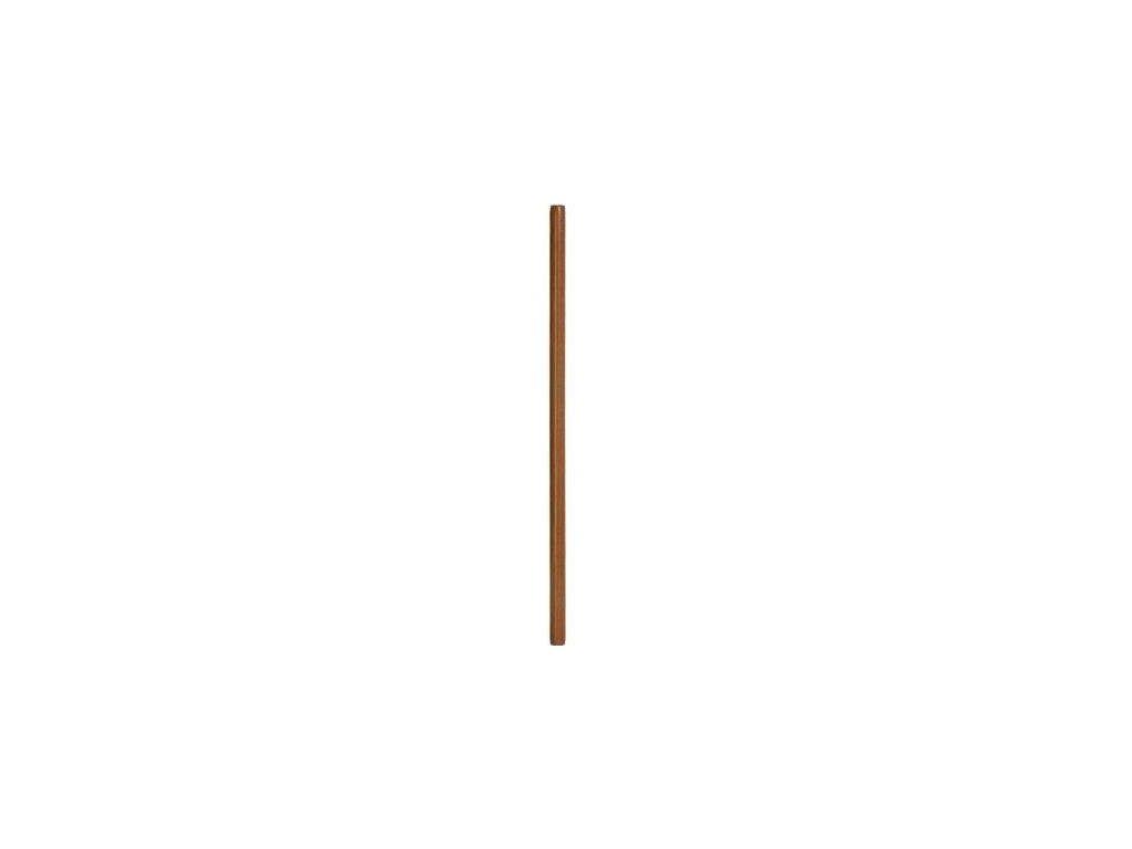 Jo - dřevěná hůl - světle hnědá - 128 cm - MAHAGON
