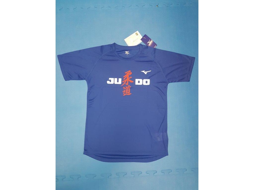 Tričko mizuno judo sportovní - Modré