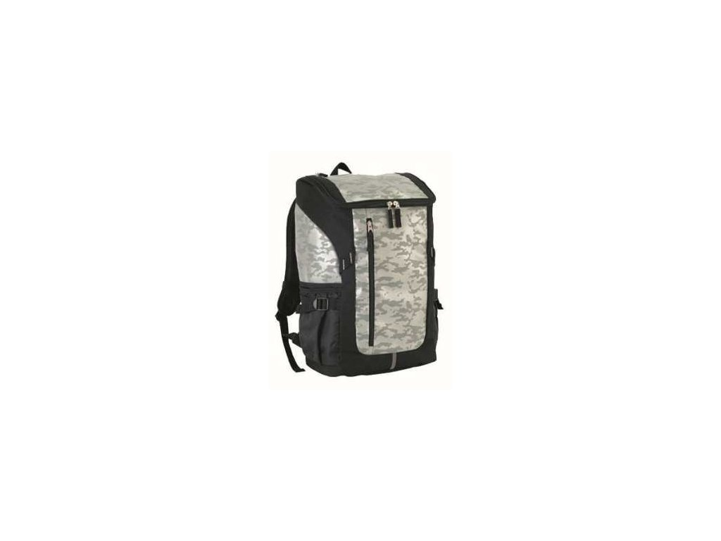 budo back pack camo silver one size